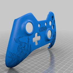 d801496413040d555344cf41031dd90a.png Download free STL file Xbox One S Custom Controller Shell - League of Legends Diana Edition • 3D printable template, mmjames