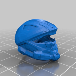 Download free STL file Halo 4 Madsen Helmet • 3D printable model, mmjames