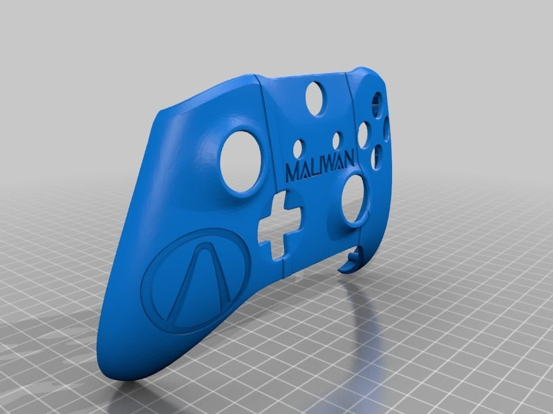 e76438724a1de9c5d55495f799ea6133.png Download free STL file Xbox One S Custom Xbox Controller Shell - Borderlands: Maliwan Edition v2,3,4 • 3D print design, mmjames