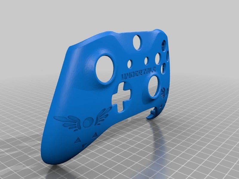d3175389f3d4aae815ed4800758a5e02.png Download free STL file Xbox One S Custom Controller Shell: DeltaRune Controller • 3D printer template, mmjames