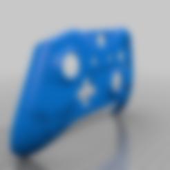 untertale_delta_controller.stl Download free STL file Xbox One S Custom Controller Shell: DeltaRune Controller • 3D printer template, mmjames