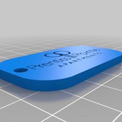 Download free 3D printing designs Prentiss Pointe KeyChain, mmjames
