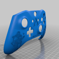 Caustic_Controller.png Download free STL file Xbox One S Custom Controller Shell: Apex Legends - Caustic Edition • 3D printable design, mmjames