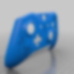 DJ_llama_Controller_Adam.stl Download free STL file Xbox One S Custom Controller Shell: Fortnite - DJ Llama Edition • 3D print model, mmjames