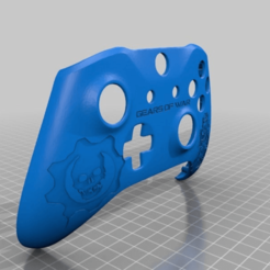 Download free 3D printing templates Xbox One S Custom Controller Shell: GOW Edition, mmjames