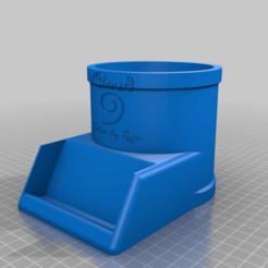 411847361bcd73d81c9d993ddebb0f22.png Télécharger fichier STL gratuit Détenteur d'une carte de visite Cloud 9 • Design imprimable en 3D, mmjames