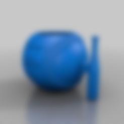 Uncle_Baseball_MUG.stl Download free STL file Uncle Baseball Mug • Template to 3D print, mmjames