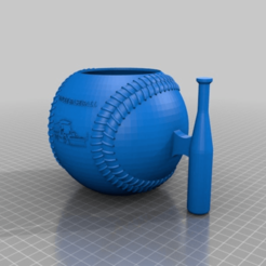 Download free STL file Uncle Baseball Mug • Template to 3D print, mmjames