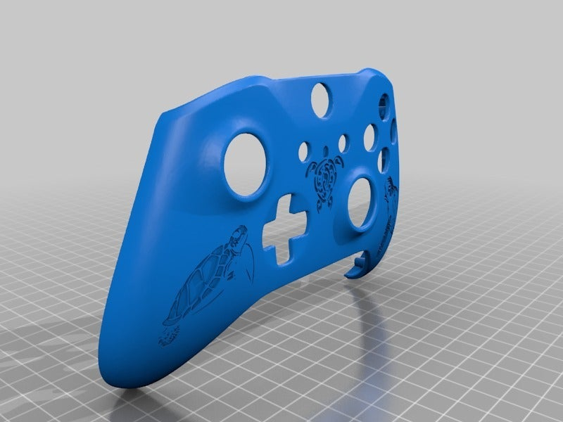 0f205ee6f8386a558dd294503851555c.png Télécharger fichier STL gratuit Xbox One S Custom Controller Shell : Edition Tortue • Design imprimable en 3D, mmjames
