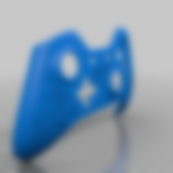 Apex_Bloodhound_Controller.stl Download free STL file Xbox One S Custom Controller Shell - Apex Legend Bloodhound • Design to 3D print, mmjames