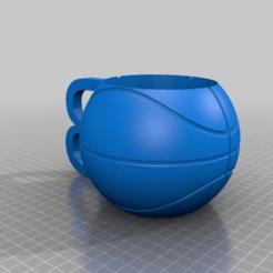 dce5b767e65de932a9ed7f01f5220203.png Download free STL file Custom Rochester Basketball Mug • Model to 3D print, mmjames