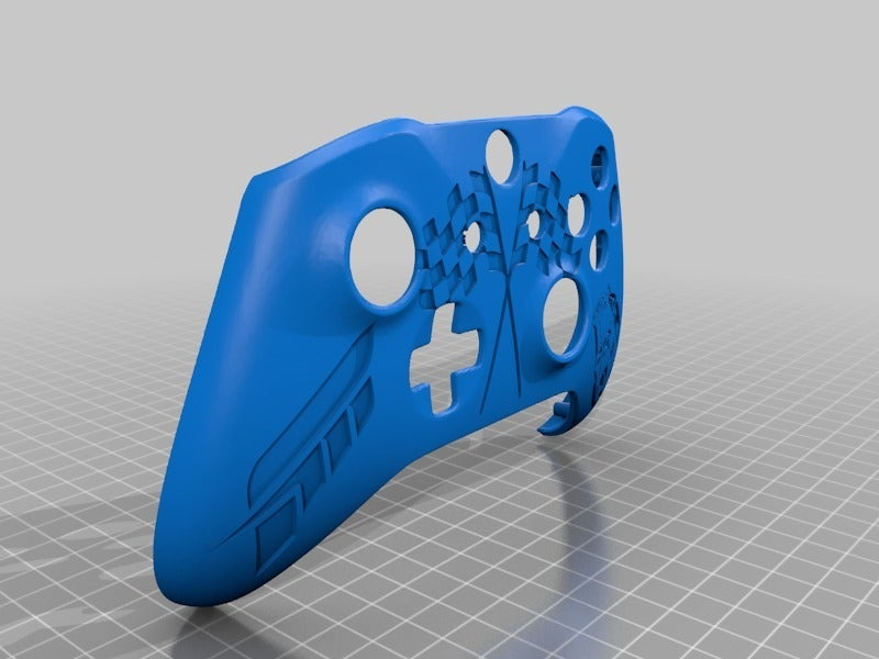 d98b950380a747b14d597cdf2cafbcaf.png Download free STL file Xbox One S Custom Controller Shell: Forza Motorsports Edition • 3D print design, mmjames