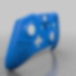 blackops4_controller_hole_fix.stl Download free STL file Xbox One S Custom Controller Shell: Black Ops 4 Edition • 3D printer design, mmjames