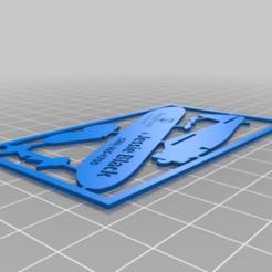 Télécharger fichier STL gratuit Carte de visite personnalisée de Prentiss Pointe V1 • Modèle imprimable en 3D, mmjames