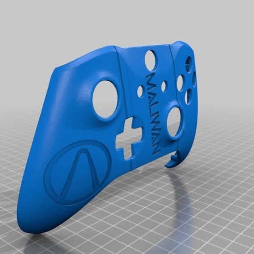 6f1a458d529ecc7c1a57efb6ca9a2aa5.png Download free STL file Xbox One S Custom Xbox Controller Shell - Borderlands: Maliwan Edition v2,3,4 • 3D print design, mmjames