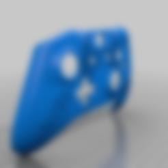 battle_angel_controller.stl Télécharger fichier STL gratuit Xbox One S Custom Controller Shell : Alita Battle Angel Edition • Modèle pour imprimante 3D, mmjames