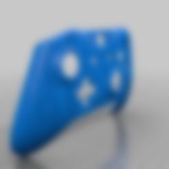 "endgame_controller_v2.stl Download free STL file Xbox One S Custom Controller Shell: Avengers Endgame ""I Love You 3000"" Edition • 3D printing model, mmjames"