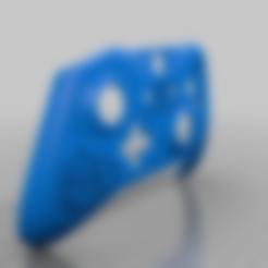 overwatch_tracer_controller.stl Download free STL file Xbox One S Customer Controller Shell - Overwatch: Tracer Edition • 3D printing design, mmjames