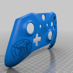 Download free 3D printer model Xbox One S Custom Controller Shell: Jak and Daxter Edition, mmjames