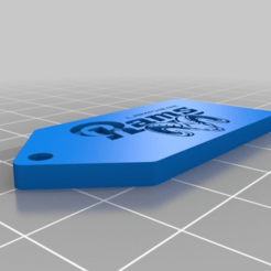 Download free 3D printer templates Lamphere High Custom Keychain, mmjames