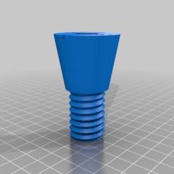 part_2_v2_hole.png Download free STL file Sit-On Kayak Transducer Scupper Mount • 3D printable model, mmjames