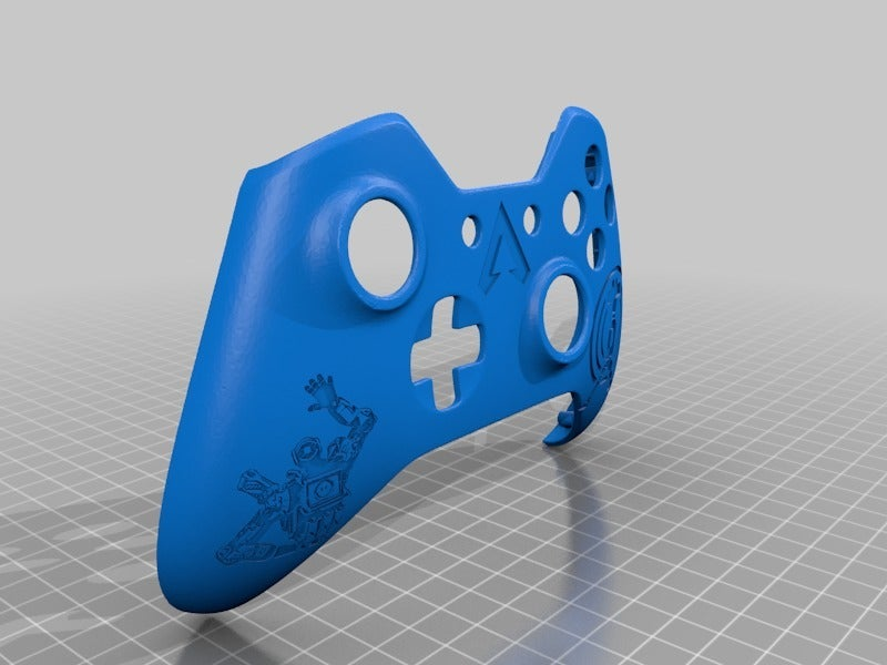 7dc0fbab94301c4c6dc59fd1589e4e47.png Download free STL file Xbox One S Custom Controller Shell: Apex Legend Pathfinder Edition • Design to 3D print, mmjames