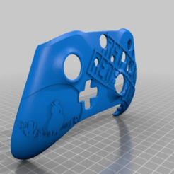 Download free 3D printer designs Xbox One S Custom Controller Shell: Red Dead Redemption Edition, mmjames