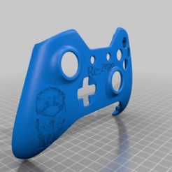 0663c0cde8c212de3816c9584ee1d67f.png Download free STL file Xbox One S Custom Controller Shell: Rem Re:Zero Edition • 3D printable design, mmjames