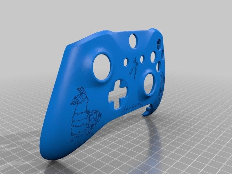 551d5c2f0e906e80474f183e61e107ab.png Download free STL file Xbox One S Custom Controller Shell: Fortnite - DJ Llama Edition • 3D print model, mmjames