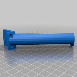 Download free STL Toilet paper roll holder 45°, zockertoben19