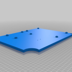 Download free 3D printer model Mounting bord, zockertoben19