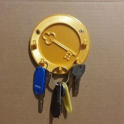 20201203_144812.jpg Télécharger fichier STL Porte-clés mural (clé) • Modèle imprimable en 3D, stephsm