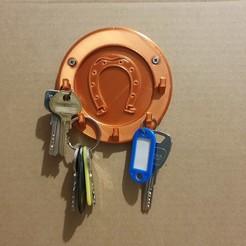 20201129_110749.jpg Télécharger fichier STL Porte clés mural (Fer à cheval) • Objet pour imprimante 3D, stephsm