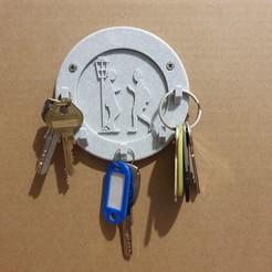 20201129_110653.jpg Télécharger fichier STL Porte clés mural (ados) • Modèle pour imprimante 3D, stephsm