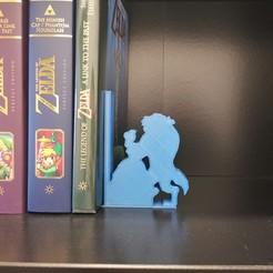 IMG_20200510_150909.jpg Télécharger fichier STL Serre livres - bookend - Belle et la bête - beauty and the beast - Disney • Design à imprimer en 3D, tuningboy