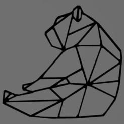 Télécharger modèle 3D Ours - bear - 2D, tuningboy