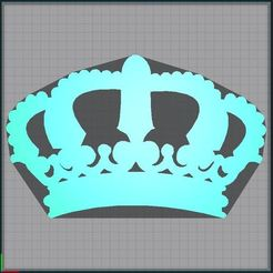Capture.JPG Download STL file Crown - crown • 3D printable model, tuningboy