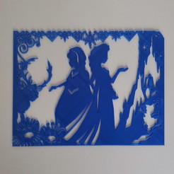 IMG_20200526_105053.jpg Télécharger fichier STL Elsa anna olaf - La reine des neiges - Frozen - Disney - 2D • Design imprimable en 3D, tuningboy