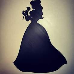 received_202395554410191.jpeg Télécharger fichier STL Belle et la bête - beauty and the beast - Disney - 2D • Plan pour impression 3D, tuningboy