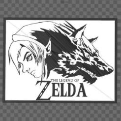 Capture.JPG Télécharger fichier STL Zelda - Twilight princess - Wolf Link • Modèle à imprimer en 3D, tuningboy