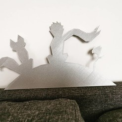 Imprimir en 3D Pequeño príncipe - Pequeño príncipe - 2D, tuningboy