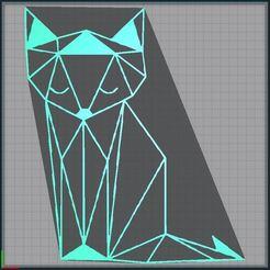 Télécharger fichier imprimante 3D Renard - Fox - 2D, tuningboy