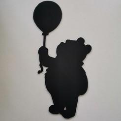 IMG_20200329_103634.jpg Télécharger fichier STL Winnie the pooh - Winnie l'ourson - Disney - 2D • Objet pour imprimante 3D, tuningboy