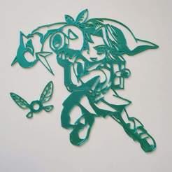 received_1372865786255029.jpeg Télécharger fichier STL Zelda - Link - 2D • Objet imprimable en 3D, tuningboy