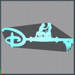 Capture.JPG Télécharger fichier STL Clé Tarzan et Jane - Clef Tarzan et Jane - key Tarzan and Jane - Disney • Modèle pour impression 3D, tuningboy