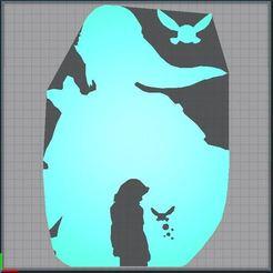 Capture.JPG Télécharger fichier STL The Legend Of Zelda - Link Navi - 2D • Modèle pour imprimante 3D, tuningboy
