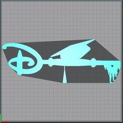 Capture.JPG Télécharger fichier STL Clé chapeau diplôme - Clef chapeau diplôme - key graduation cap - Disney • Design pour imprimante 3D, tuningboy