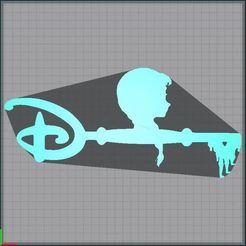 Capture.JPG Télécharger fichier STL Clé Anna - Clef Anna - key Anna - Disney - Reine des neiges - Frozen • Modèle à imprimer en 3D, tuningboy