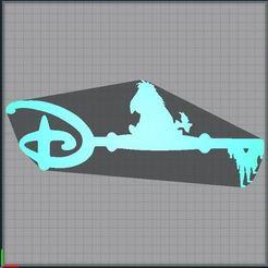 Capture.JPG Télécharger fichier STL Clé Bouriquet - Clef Bouriquet - key eeryore - Disney • Objet pour impression 3D, tuningboy
