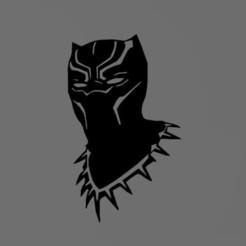 Capture.JPG Download STL file Black panther 2D • 3D printable template, tuningboy
